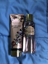 VICTORIA SECRET - DIAMOND PETALS - FRAGRANCE LOTION N MIST (SET) - NEW