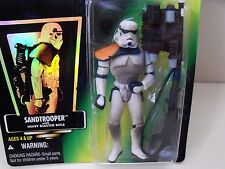 STAR WARS - THE POWER OF THE FORCE - SANDTROOPER WITH HEAVY BLASTER RIFLE