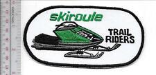 Snowmobile Coleman Skiroule 1970 Trail Riders Wichita, Kansas Promo Patch