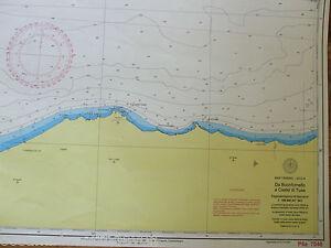 ADMIRALTY CHART MAP DA BUONFORNELLO A CASTEL DI TUSA ITALY SHIPPING MAP ITALIAN