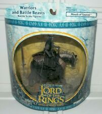 Lord of The Rings Middle Earth Warriors And Battle Beasts Mouth of Sauron Figure