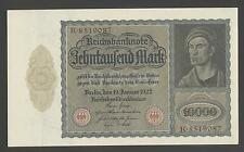 Germany  10000  Mark  19-01-1922  XF+/AU  P. 71  Banknotes, Circulated