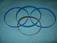 "3 BLUE MAX BAND SAW TIRES AND DRIVE BELT FOR 10"" CRAFTSMAN 113244513 BAND SAW"