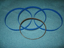 """3 BLUE MAX BAND SAW TIRES AND DRIVE BELT FOR 10"""" CRAFTSMAN 113-244512 BAND SAW"""