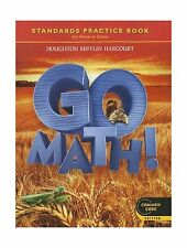 Go Math! Standards Practice Book Grade 2 Common Core Edition Free Shipping