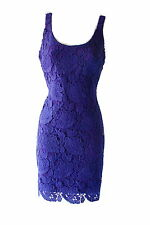 Ralph Lauren Lace Crochet Sleeveless Party Cocktail Wedding Guest dress sz 14