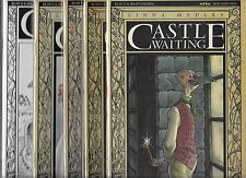 Linda Medley Castle Waiting Lot Of 5 - #3 #4 #5 #6 Hiatis (Nm-)