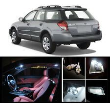 2000 - 2009 Subaru Outback Premium White LED Interior Package (12 Pieces)