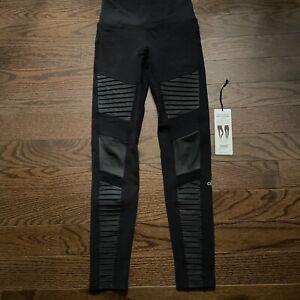 Alo Yoga Moto Legging High Waist Black Size S