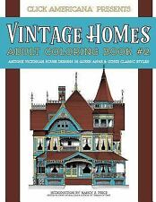 Vintage Homes Adult Coloring Book : Antique Victorian House Designs in Queen ...