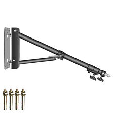 Neewer Studio Video Triangle Wall Mounting Boom Arm Max Length 70.8 inches Black