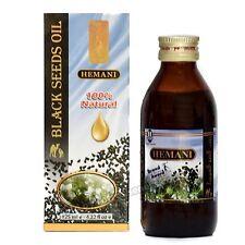 Hemani Black Seed/Cumin/Nigella Sativa Oil 100% Pure Natural Kolanji Oil 125ml