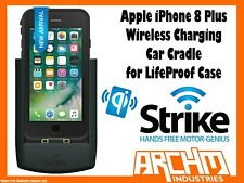 Strike Alpha Apple iPhone 8 Plus Wireless Charging Car Cradle for Lifeproof Case