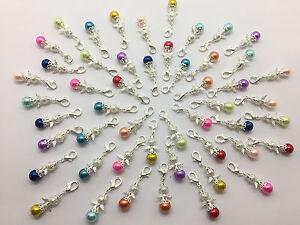 25 Stück Mini-Schutzengel Charme Perlen Engel Gastgeschenk Anhänger Angel NEU