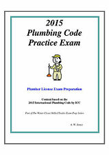 2015 International Plumbing Code Practice Exam on USB Flash Drive