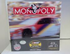 Monopoly NASCAR Nextel cup series Collector's Edition game Monopoly game