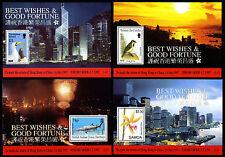 Hong Kong 1997 - 11 Blocks mit Hologramm - Rückgabe an China - return to China