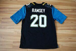 SIZE L JACKSONVILLE JAGUARS JALEN RAMSEY JERSEY MEN'S #20 NIKE NFL GAME JERSEY