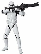 SH Figuarts Star Wars Clone Trooper Phase 1 Painted Action Figure Bandai
