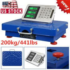 Portable 200kg441lbs Wireless Lcd Personal Floor Bench Postal Platform Scale