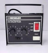 Beseler 8177 Audible/Repeating Enlarging Timer for Photography Darkroom Exc++