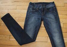 G-STAR  Jeans pour Femme W 25 - L 32 Taille Fr 34 LYNN MID SKINNY (Réf #A249)