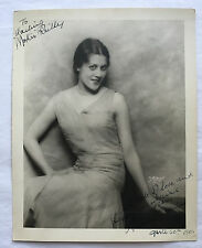 ORIGINAL NANCY BROWN ARLEN AUTOGRAPH 8x10 1930s WARDROBE MISTRESS COLLECTION