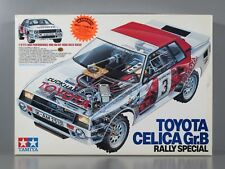 New Open Box Tamiya 1/12 Toyota Celica Gr.B Rally Special 4WD Vintage Kit #5864