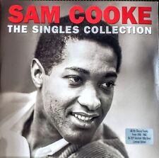 "SAM COOKE  THE SINGLES COLLECTION - 180 GRAM VINYL - 2 LP SET "" NEW, SEALED """