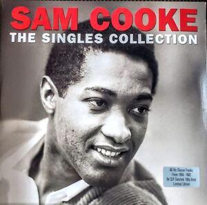"SAM COOKE - THE SINGLES COLLECTION - 180 GRAM VINYL - 2 LP SET "" NEW, SEALED """
