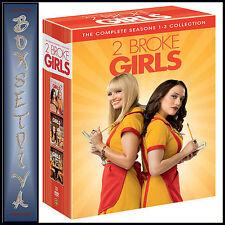 2 BROKE GIRLS - COMPLETE SEASONS 1 2 & 3 **BRAND NEW DVD BOXSET ***