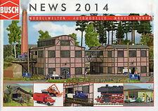 Busch News Catalogue - 2014