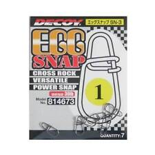 DECOY EGG SNAP CROSS ROCK VERSATILE POWER SNAP SN3 SIZE 1 30LB JAPAN
