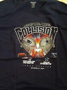 NEW ENGLAND PATRIOTS v DALLAS COWBOYS October 14 2007 TEXAS Stadium (XL) T-Shirt