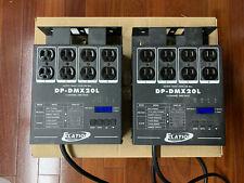Elation DP-DMX20L 4 channel DMX Dimmer (2 units)