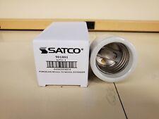 Satco 90-1801 Mogul to Mogul E39 - E39 Socket Extender 4KV Porcelain New