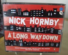NICK HORNBY - A LONG WAY DOWN - 3 CD AUDIO BOOK
