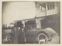 Francia Piloti Automobile da Gara Fotografia Amateur Snapshot Vintage PL10L4-21