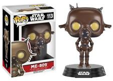 "New Pop Star Wars: EP7 - ME 809 Droid 3.75"" Funko Vinyl Collectible VAULTED"
