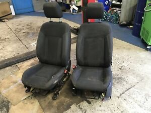 2 Front Seats From Ford Fiesta 2012