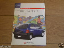 Vauxhall Corsa Trip Special Edition Sales Brochure 1997 V10420 FREE UK POSTAGE