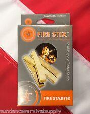 FIRE STIX fire starter tinder12pk survival emergency bugoutbag prepper UST GIFT