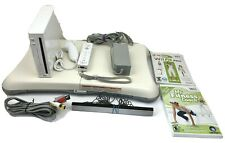 Nintendo Wii Console RVL-001, Balance Board, Fit Plus & Fitness Coach Games WORK