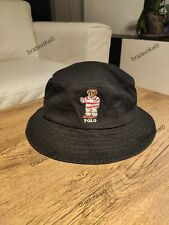 Polo Ralph Lauren Cap / Bucket Hat ONE SIZE UNISEX Teddy Bear Black Color