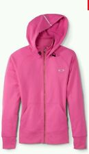 NWT OAKLEY Women Back To The Top O Hydrolix Hooded Raspberry Rose XS MSRP $85