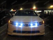 6 pcs White 9W Eagle Eye Car bike LED Parking reverse fog daytime light DRL 23mm