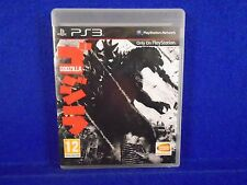 ps3 GODZILLA King Of The Monsters Playstation PAL UK ENGLISH Version REGION FREE