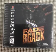 Fade to Black (Sony PlayStation 1, 1996) No manual, Tested, Cult Classic