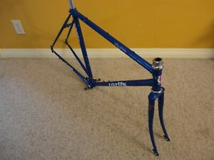 Vintage Lotus R2000 Pro Series Road Frame Set with Fork and Seat Post 52cm