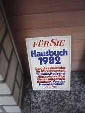 Für Sie Hausbuch 1982, Der Jahreskalender für Abrechnun